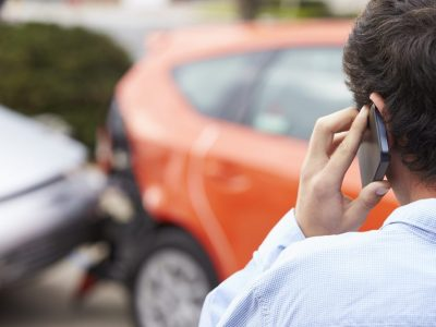 What to do when involved in car crash